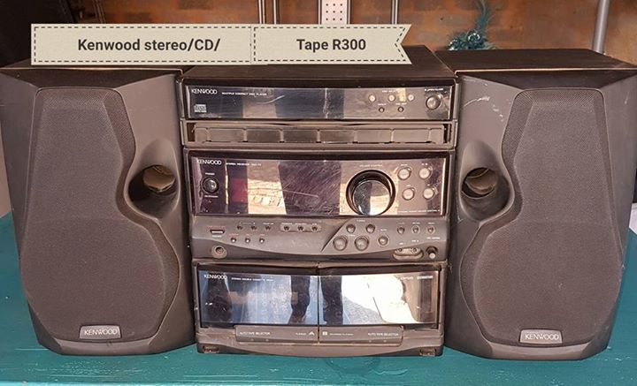 Kenwood music centre for sale Stereo, CD and Tape