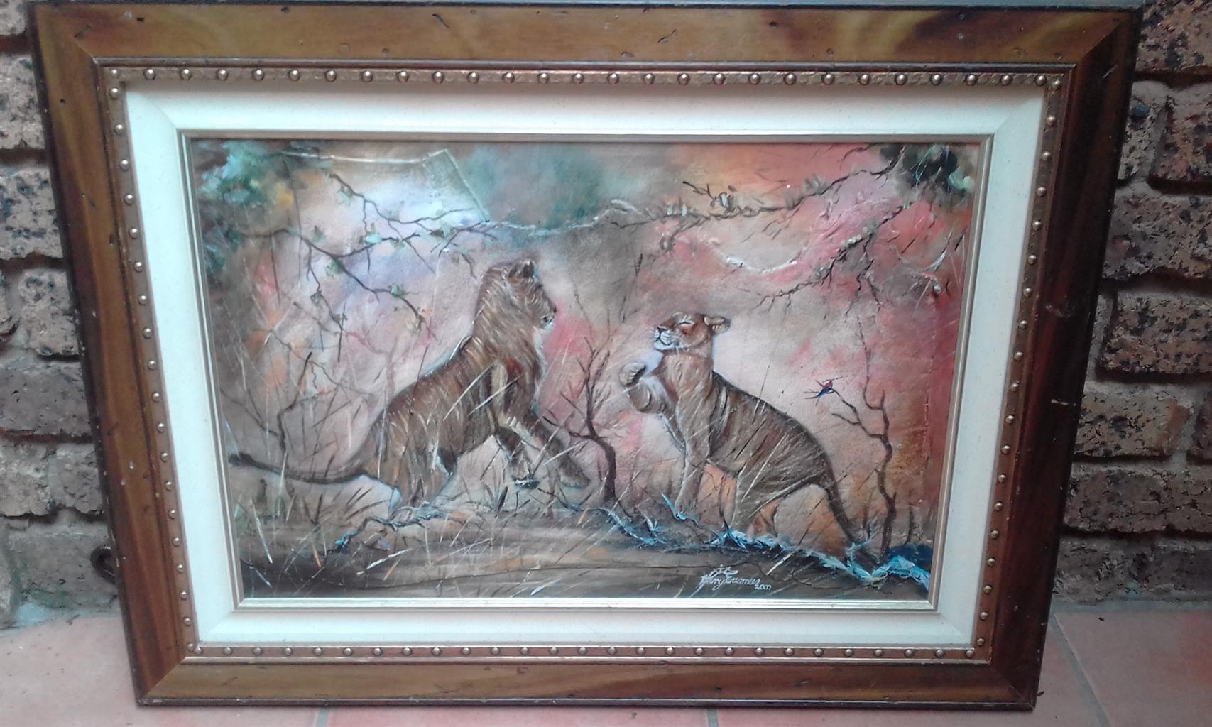 "Harry Erasmus ""Two Lions"""