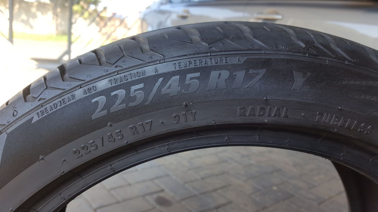 Tires for sale 225/45/17
