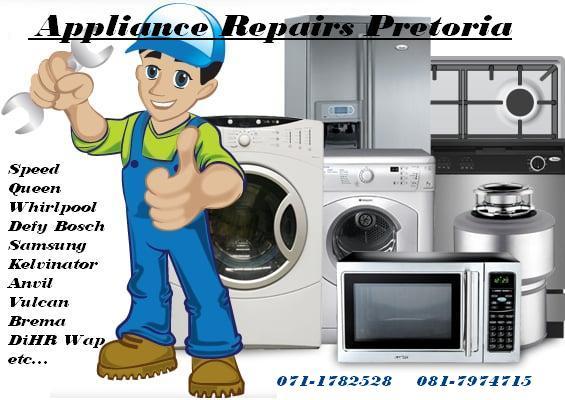APPLIANCE REPAIRS PRETORIA