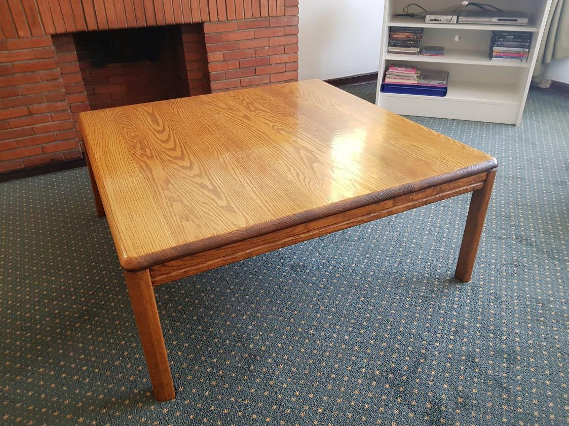 Genuine Light Oak Coffee Table
