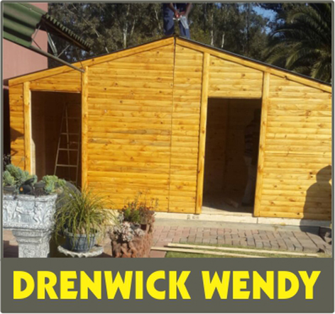 Wendy houses. Doll houses. Camp houses. Tool sheds. Log cabins