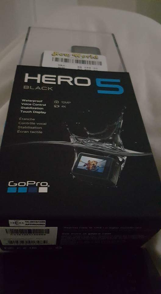 Brand new sealed GoPro Hero 5