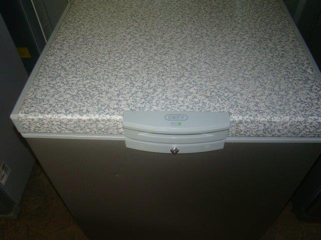 Defy 210L Chest Freezer Silver
