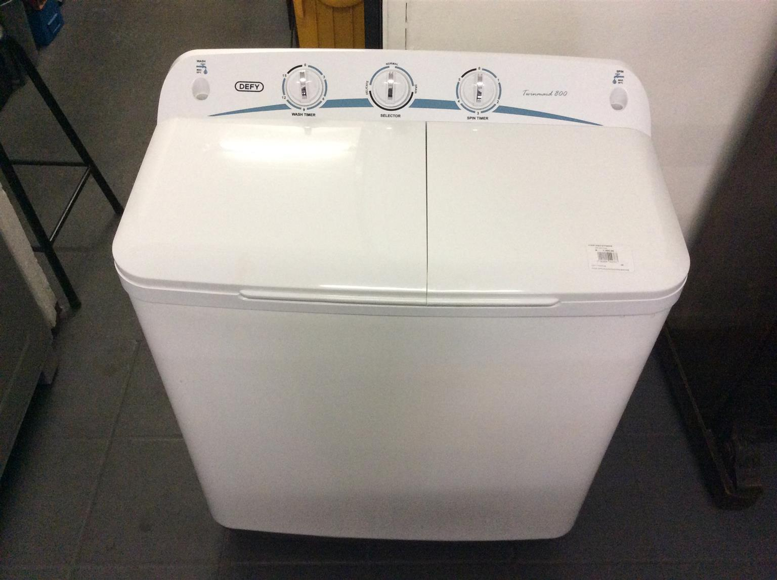 Defy Twintub washing machine