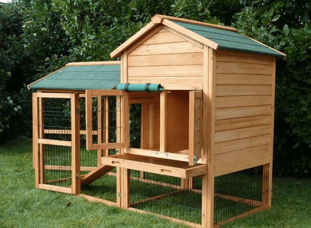 Spacious And Beautiful Rabbits And Guinea Pigs Houses.