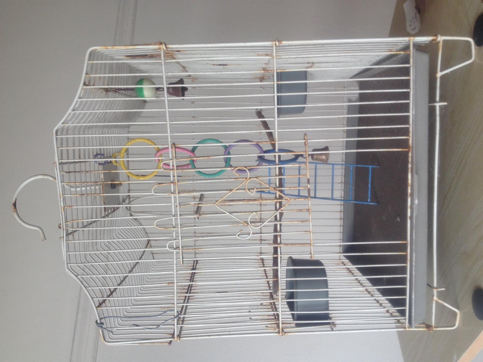 Bird Cage Small Canary, Finch & OR Budgie Cage with big Hook