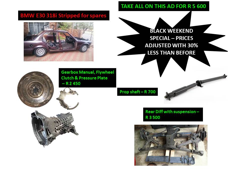 BMW E30 Gearbox & Differential