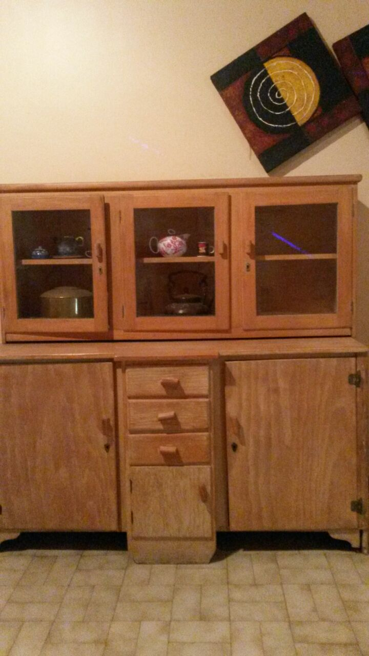 Antique pine cabinet