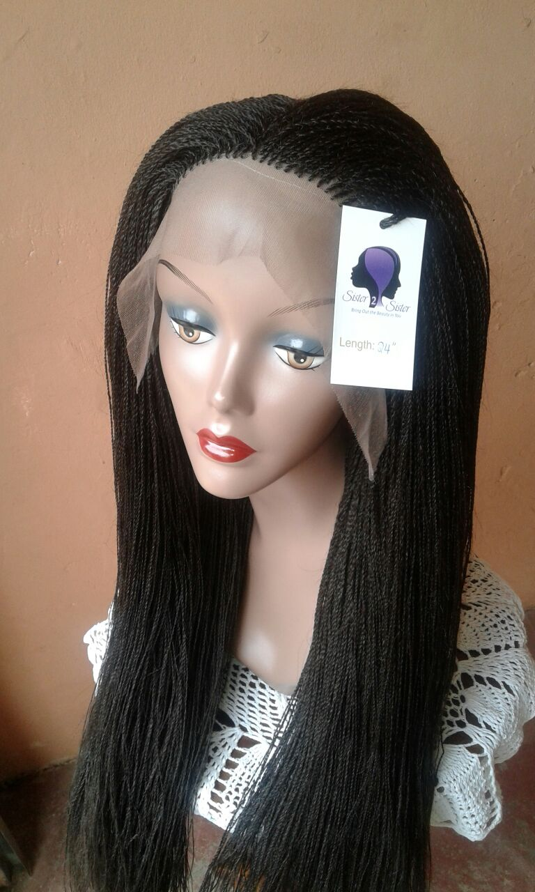 360 Frontal Lace Micro Twist Wig! ! !