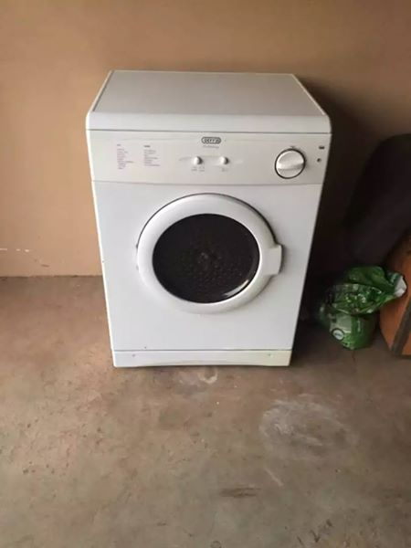 Selling a Defy tumble dryer