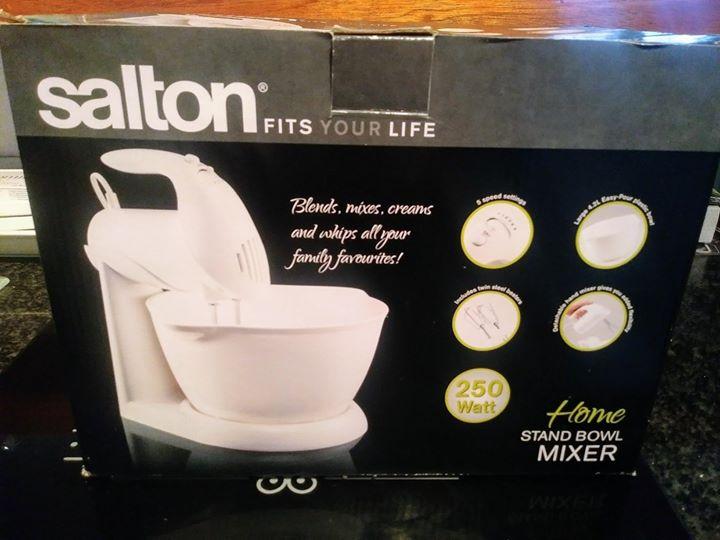 Salton stand bowl mixer