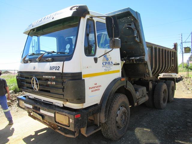 Powerstar 2628 Tipper Truck