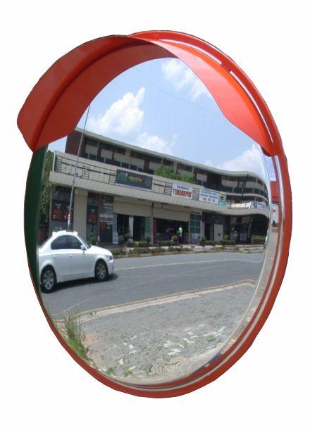 MIRS04 80cm Shatterproof Outdoor Security Mirror