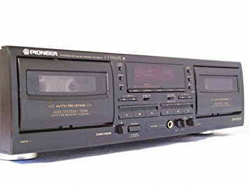 Stereo Double Cassette Deck – Pioneer CT-W208R