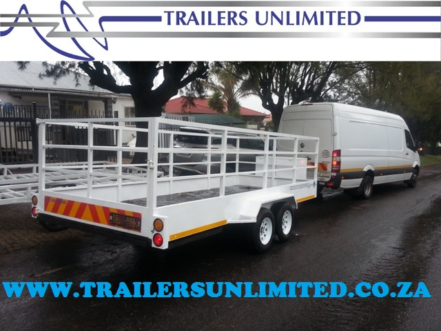 TRAILERS UNLIMITED 6000 X 2000 X 1800MM UTILITY TRAILER.