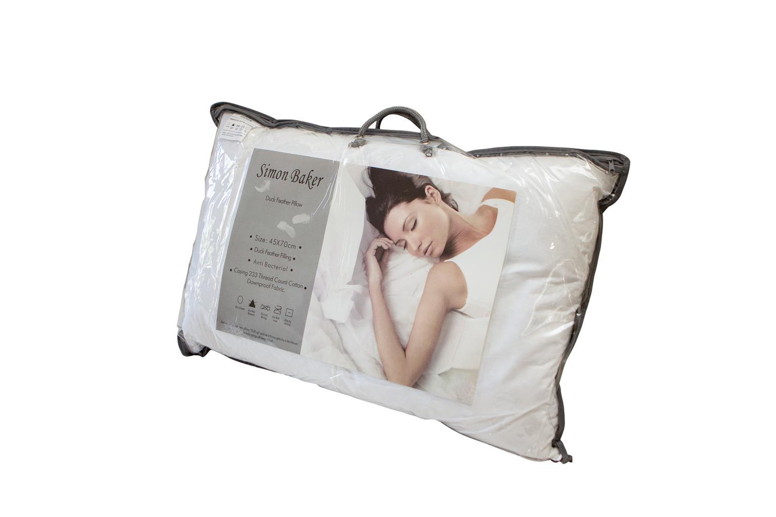 Simon Baker Duck Feather Pillows
