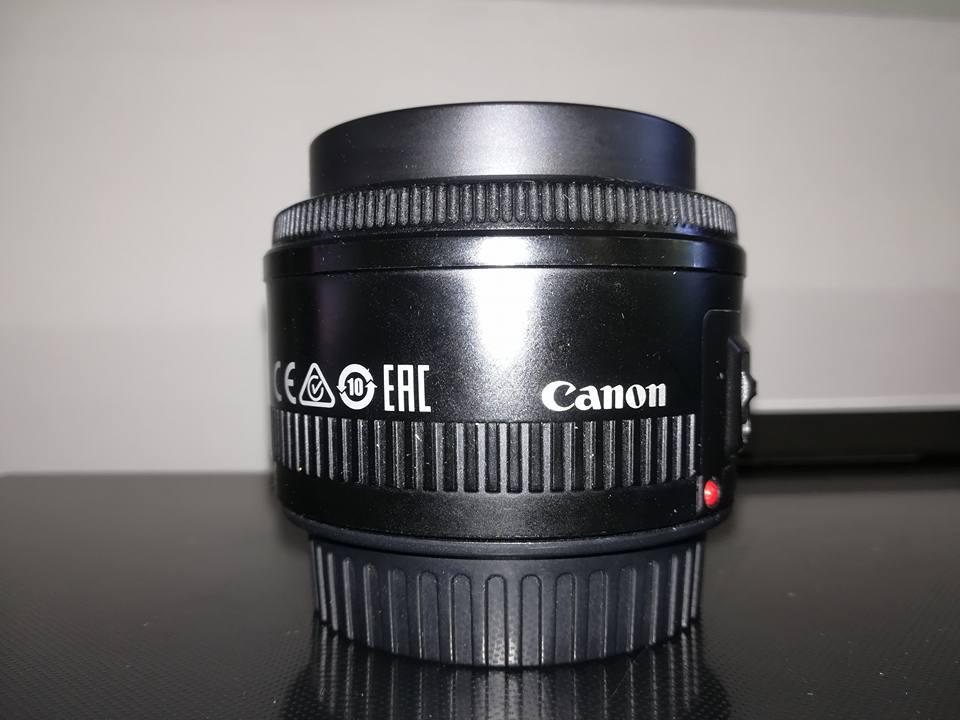 Canon EF 50mm 1:8 Lens