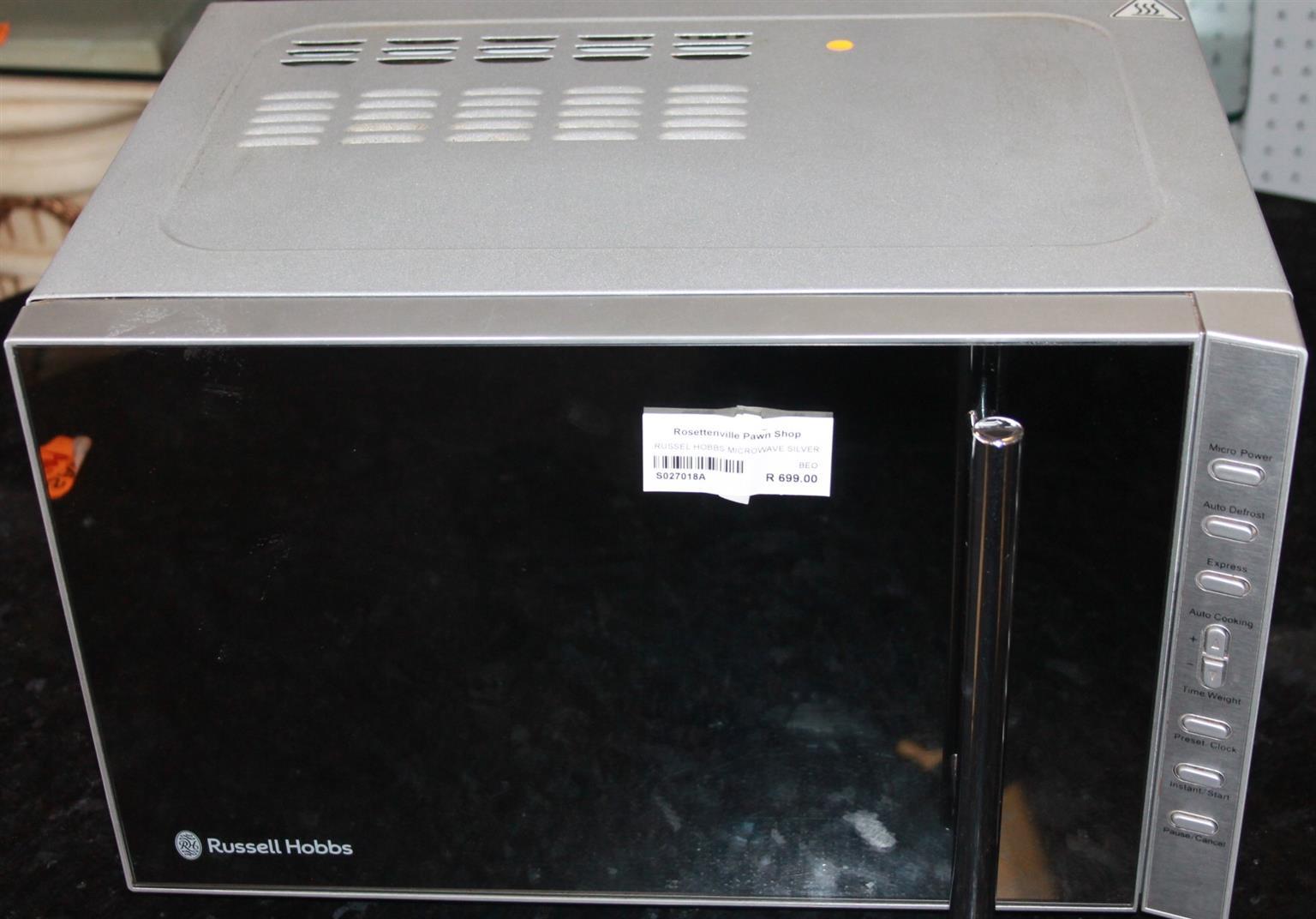 Russell hobbs microwave S027018a #Rosettenvillepawnshop