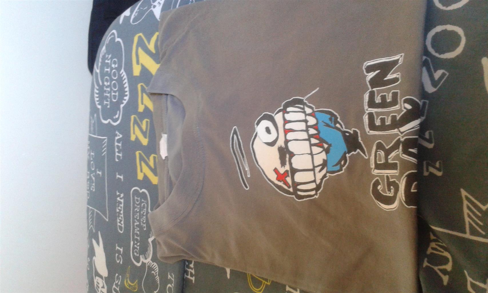 Green Day Tshirt XL