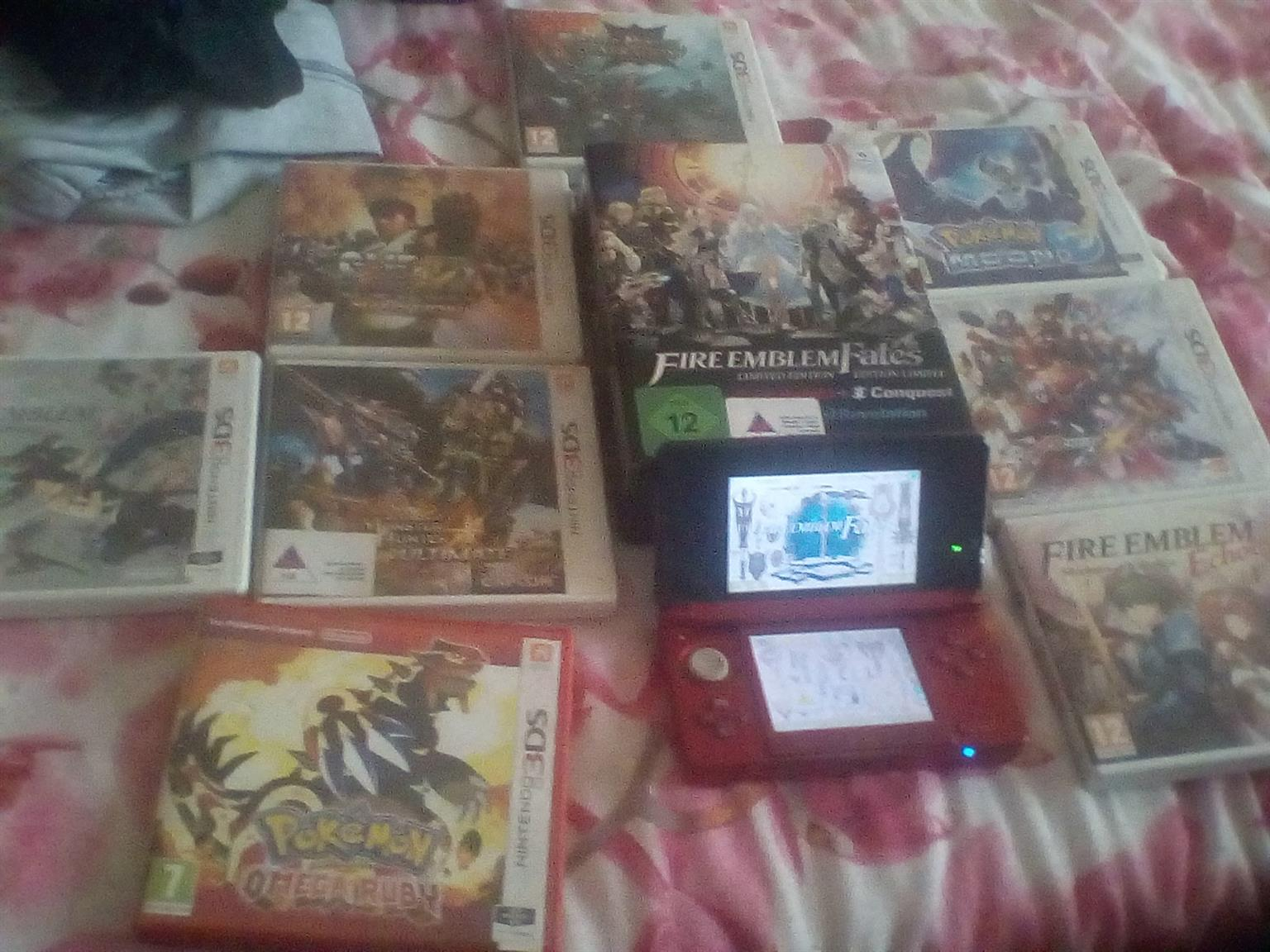 Nintendo 3DS with 10 Games