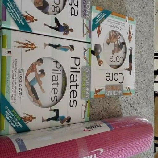 Yoga, Pilates, Core Exercise Set