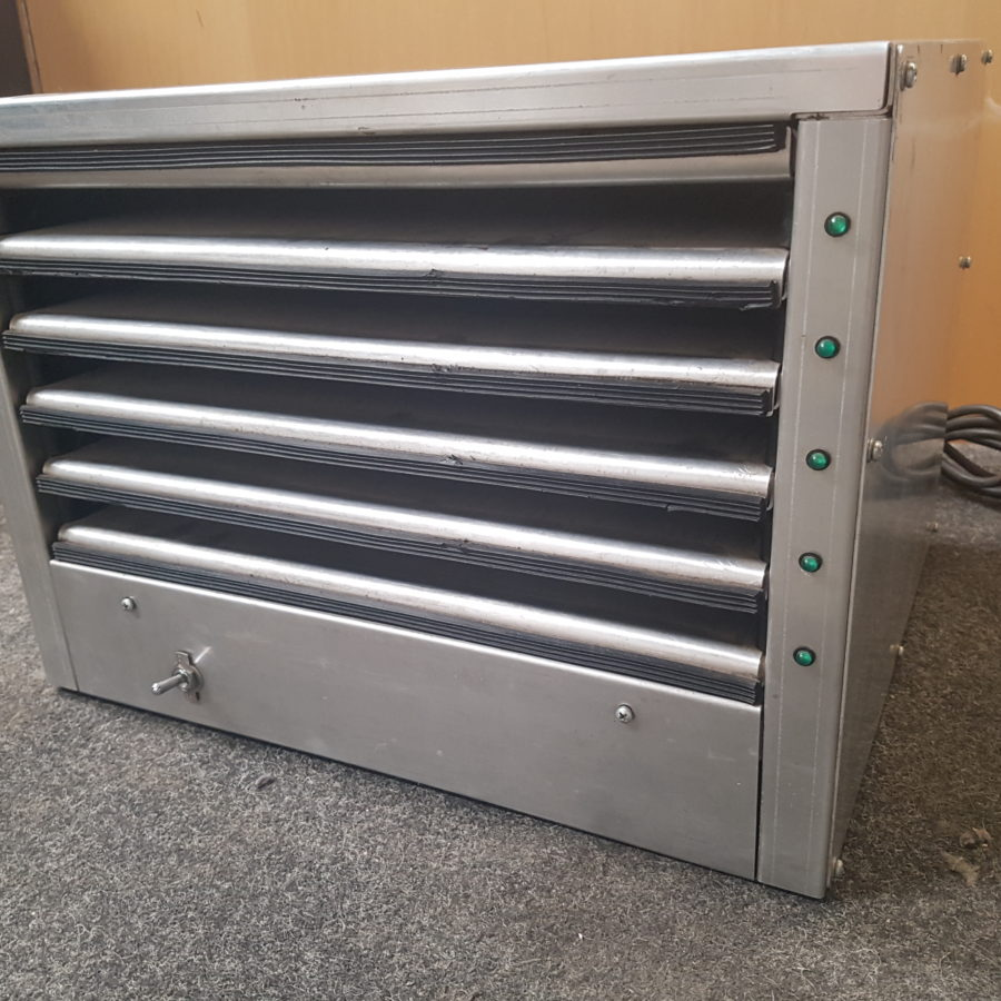 5 line hot tray heating oven