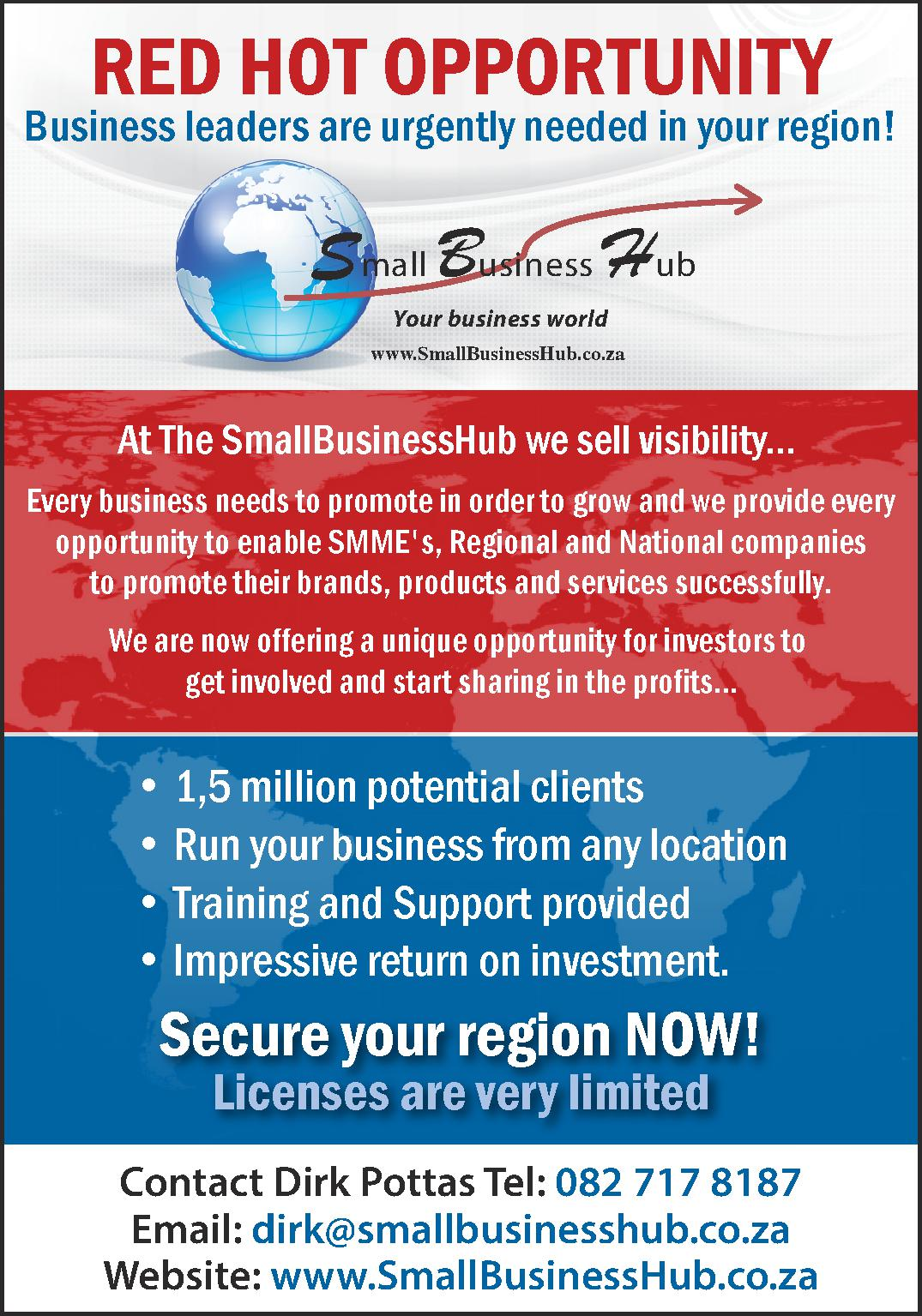 Become the epicenter of business in your area