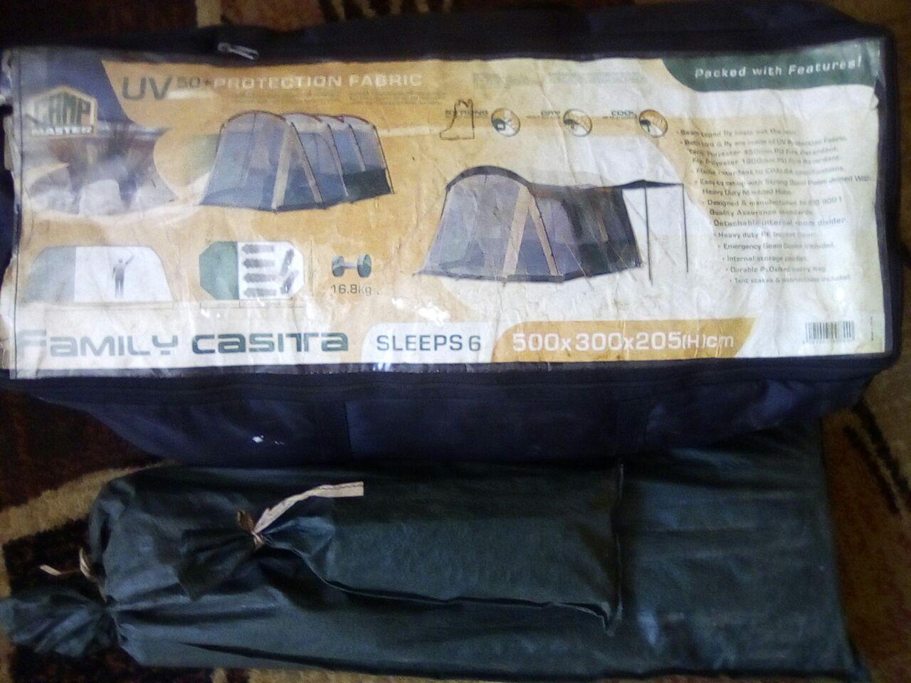 Camp master 6 man tent