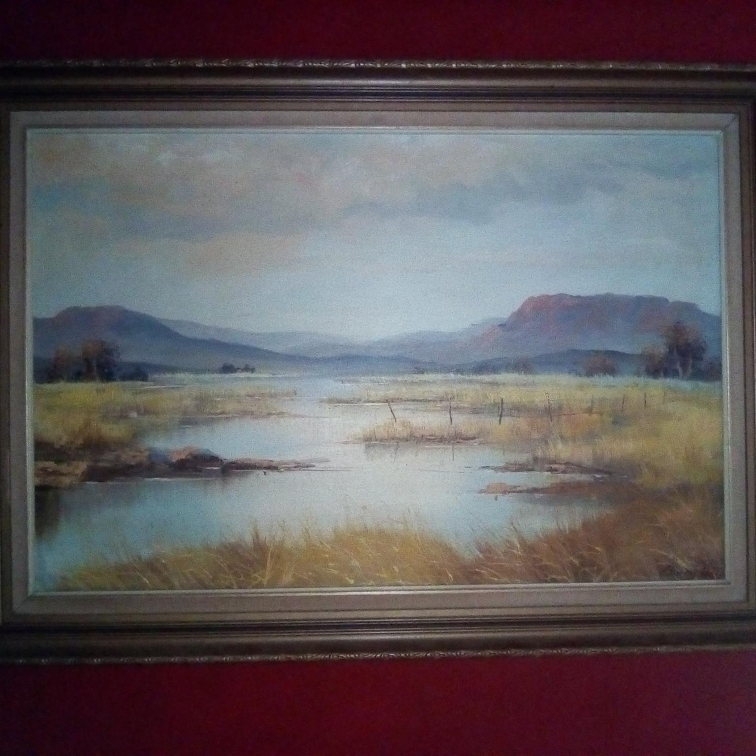 Barry Ross original painting