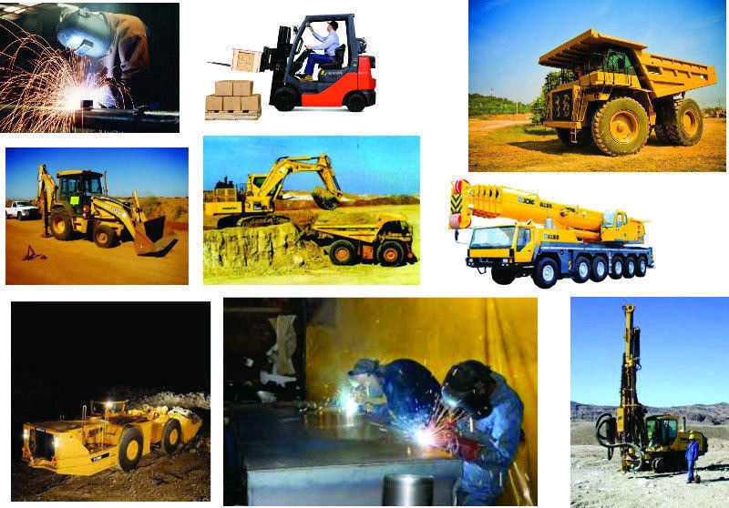 GRADER,  BULLDOZER  , EXCAVATOR, ROAD ROLLER , TIB , ALL WELDING TRAINIG    0710298221