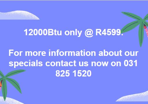 12000 Btu Airconditioner