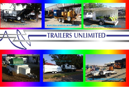 TRAILERS UNLIMITED. CUSTOM BUILD TRAILERS.