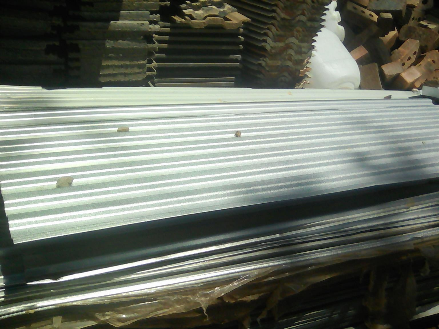 USED ZINC CORRUGATED ROOFING SHEETS IBR etc