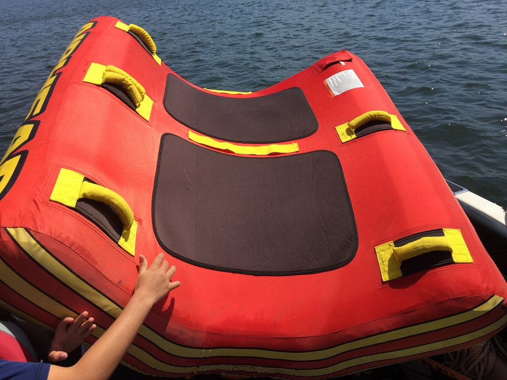 Sweet Tow Tube, Boat Airhead 2 Man U Tube