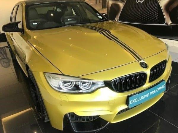 2016 BMW M3 auto