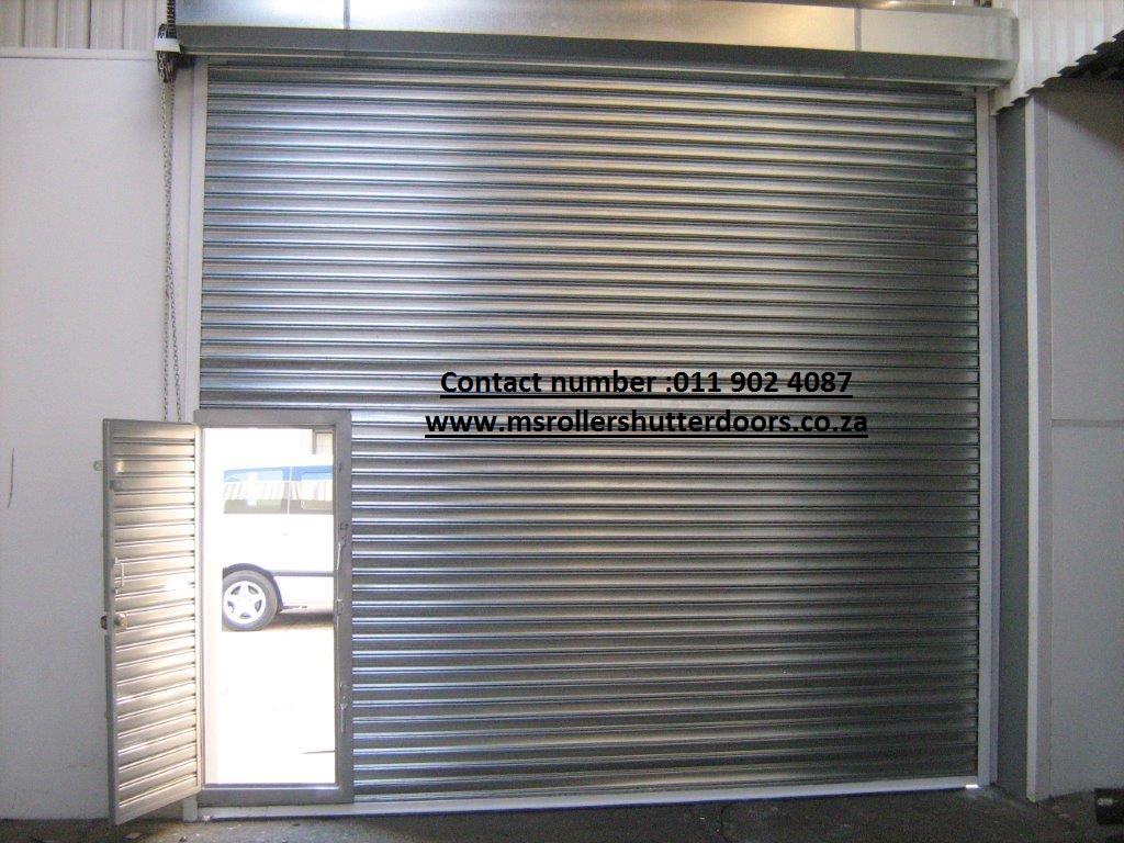 MS Roller Shutter Doors