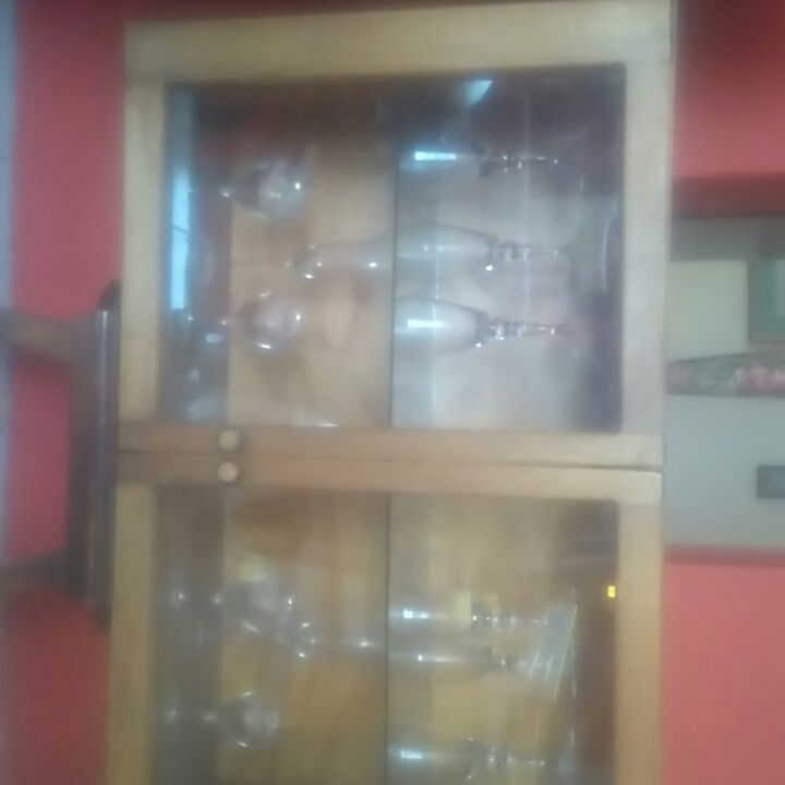 Wall mountable Glass Cabinet Cabinet