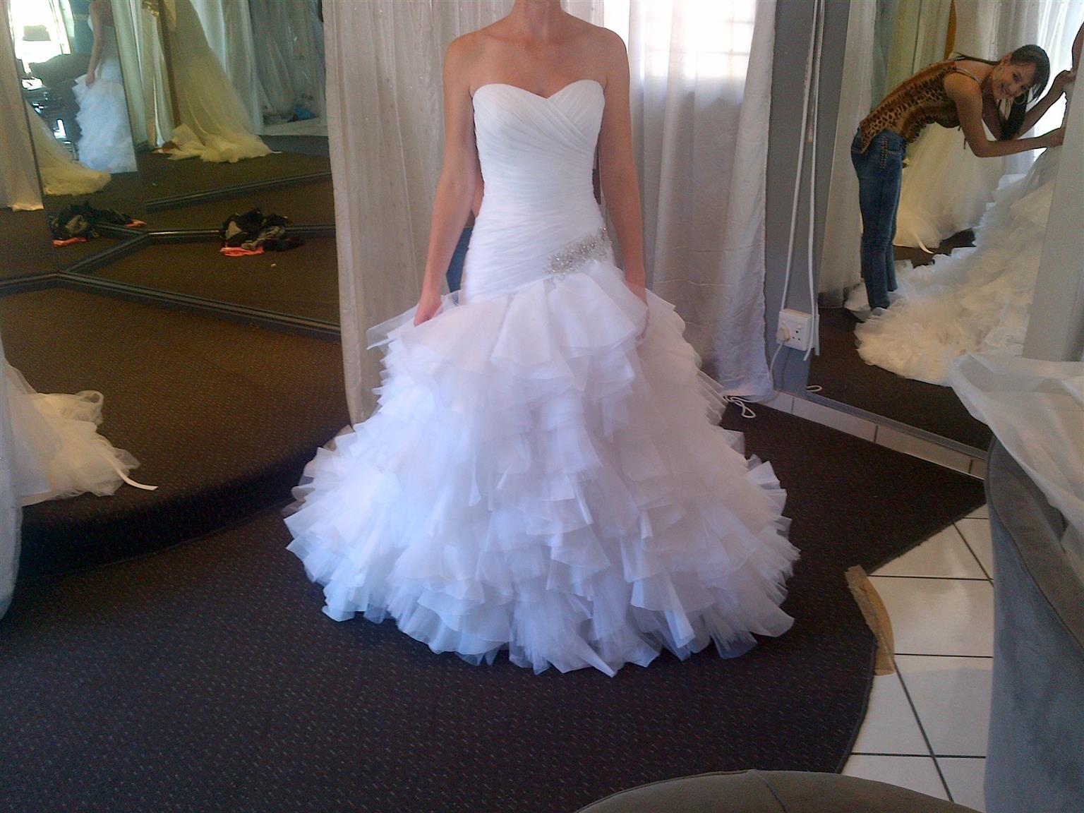 Morilee Wedding Dress for sale, Size 32