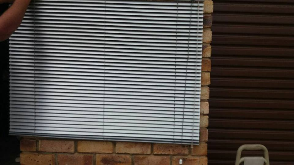 Silver blinds