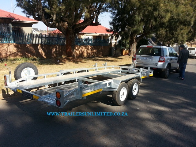 Double Axle Car Trailers