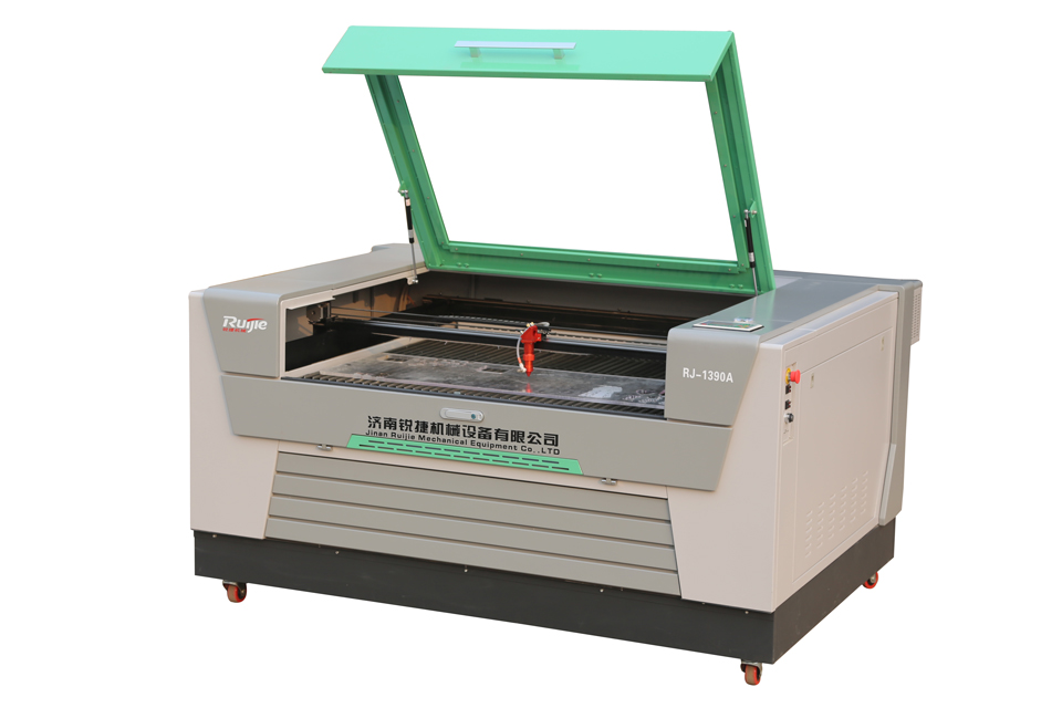 Laser engraving and cutting machine for ads