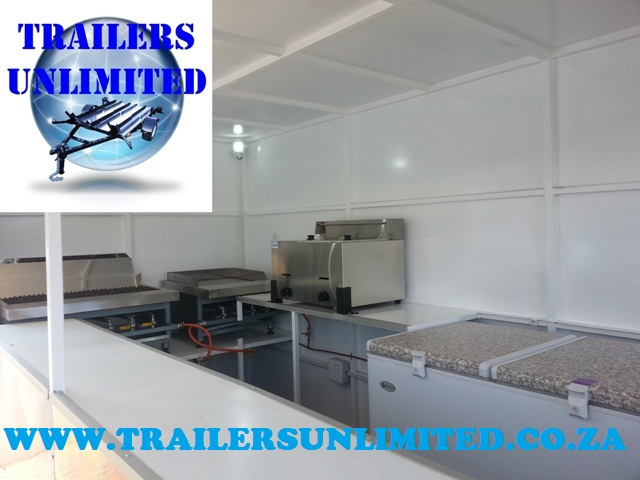 TRAILERS UNLIMITED THE CLEANEST MOBILE KITCHENS.