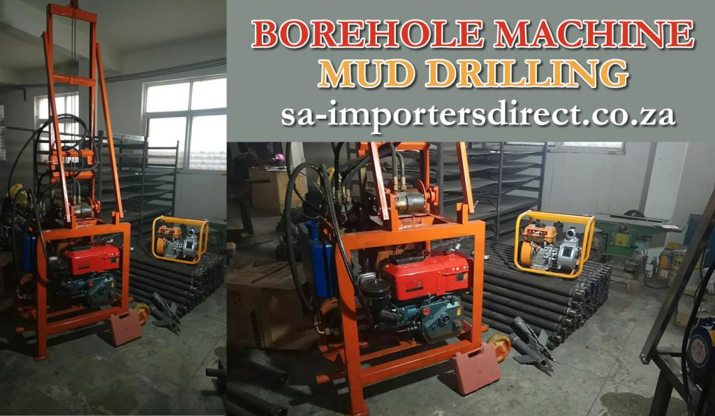 PORTABLE BOREHOLE WATER WELL DRILLING MACHINE