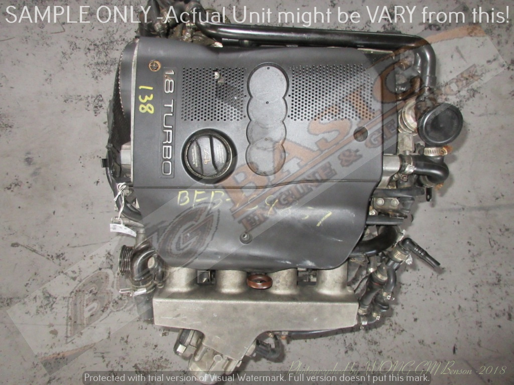 AUDI A4 -BFB 1.8L TURBO EFI 20V Engine