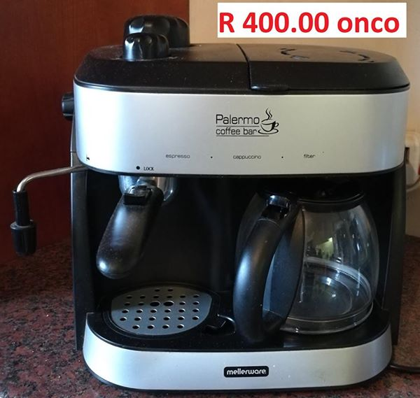 Mellerware Palermo Coffee Machine
