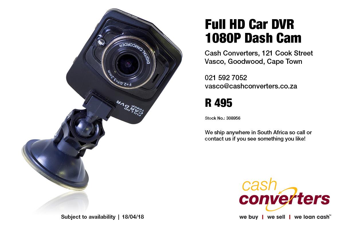 Full HD Car DVR 1080P Dash Cam