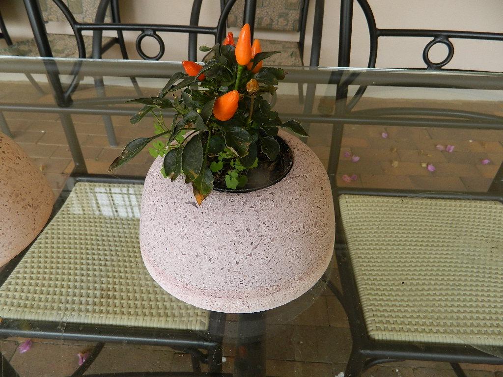 Granite Pot plant holders