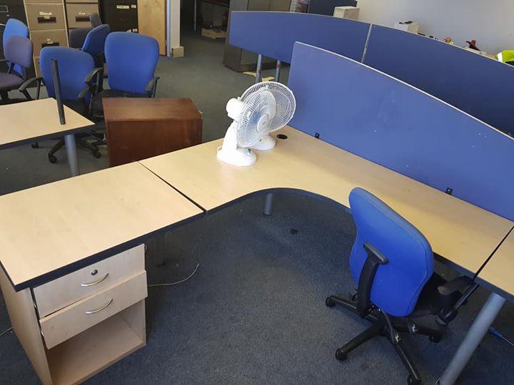 L Shape Desk For Sale
