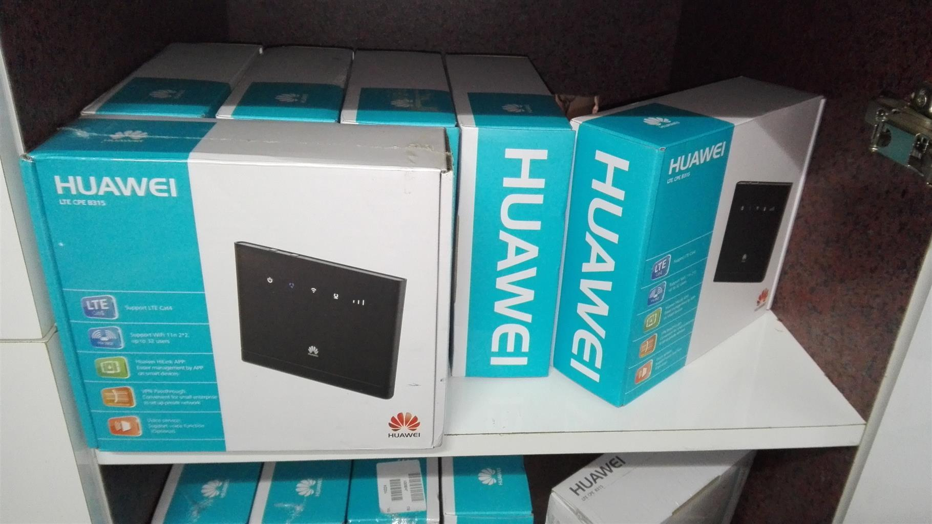 Brand New Sealed Huawei B315s-936 4G LTE Wi-Fi Router.
